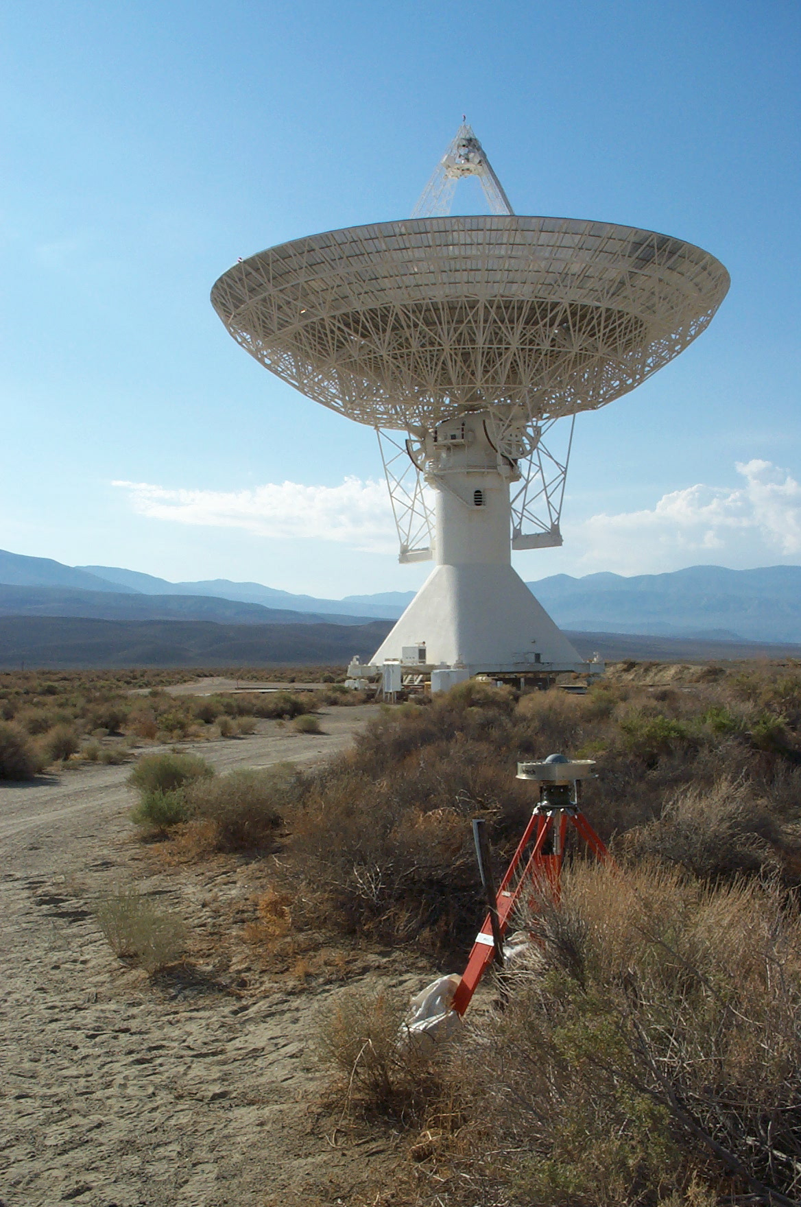 GPS station OVRO. Located at the Owens Valley Radio Observatory near Big Pine, California.